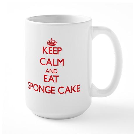 Keep calm and eat Sponge Cake Mugs