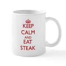 Keep calm and eat Steak Mugs