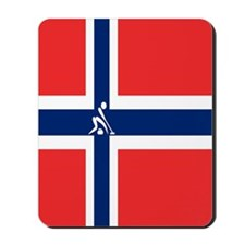 Team Curling Norway Mousepad