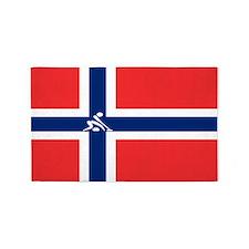 Team Curling Norway 3'x5' Area Rug