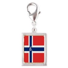 Team Curling Norway Silver Portrait Charm