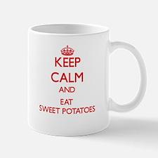Keep calm and eat Sweet Potatoes Mugs