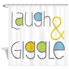 Laugh and Giggle Shower Curtain