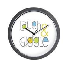 Laugh and Giggle Wall Clock
