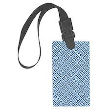 Greek Key Pattern Luggage Tag