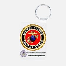 The Marine Corps Remembers! Keychains
