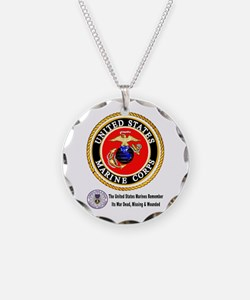 The Marine Corps Remembers! Necklace