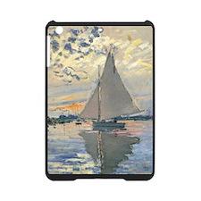 Monet Sailboat French Impressionist iPad Mini Case