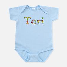 Tori Bright Flowers Body Suit