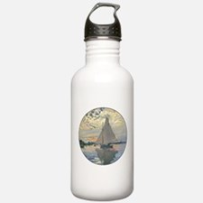 Monet Sailboat French Impressionist Water Bottle