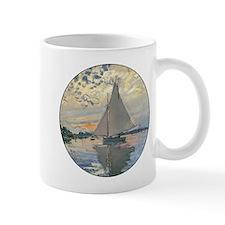 Monet Sailboat French Impressionist Mugs