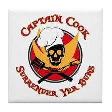 Captain Cook Tile Coaster