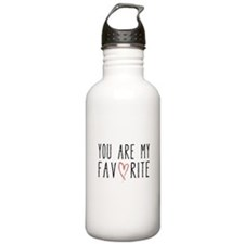 You are my favorite with red heart Water Bottle