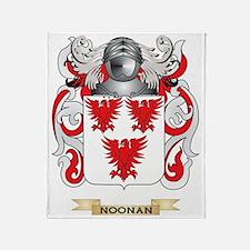Noonan Coat of Arms (Family Crest) Throw Blanket