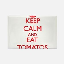 Keep calm and eat Tomatos Magnets