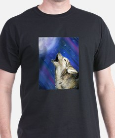 Wolf and Full Moon T-Shirt