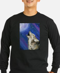 Wolf and Full Moon T