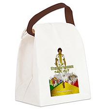 Ethiopian Warrior Canvas Lunch Bag