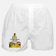 Ethiopian Warrior Boxer Shorts