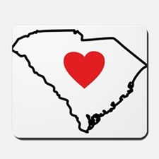 South Carolina Heart Mousepad