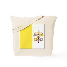 Unique Vatican city flag Tote Bag