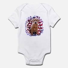 Lab Patriotic Infant Bodysuit