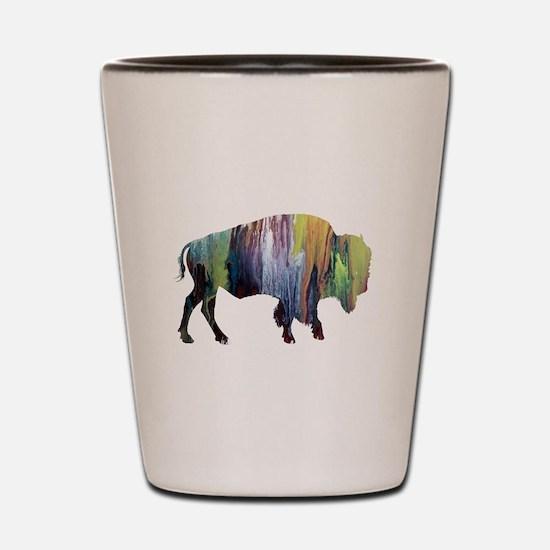 Bison / Buffalo Shot Glass
