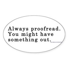 ProofreadBS Decal