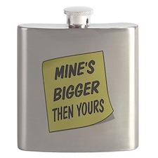 MINES BIGGER Flask