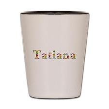 Tatiana Bright Flowers Shot Glass