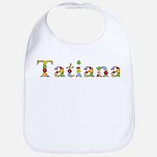 Tatiana Bright Flowers Bib