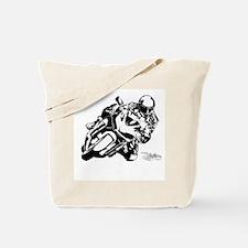 Sportbike Motorcycle Tote Bag