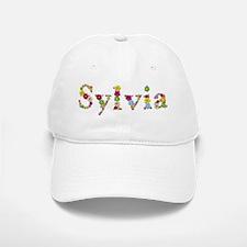 Sylvia Bright Flowers Baseball Baseball Baseball Cap