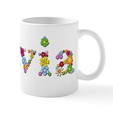 Sylvia Bright Flowers Mugs