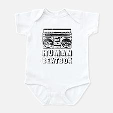 HUMAN BEATBOX - Retro 80s Infant Bodysuit
