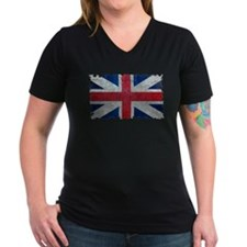 Union Jack Grunge Distressed British Flag T-Shirt