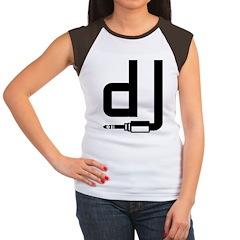 DJ Women's Cap Sleeve T-Shirt