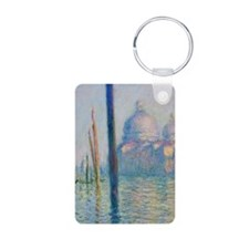 Grand Canal Venice by Monet Keychains