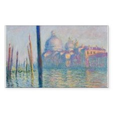 Grand Canal Venice by Monet Decal