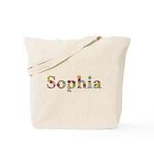 Sophia Bright Flowers Tote Bag