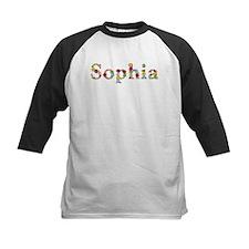 Sophia Bright Flowers Baseball Jersey