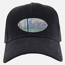 Grand Canal Venice by Monet Baseball Hat