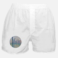 Grand Canal Venice by Monet Boxer Shorts