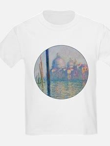 Grand Canal Venice by Monet T-Shirt