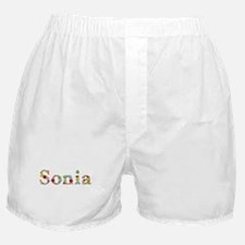 Sonia Bright Flowers Boxer Shorts