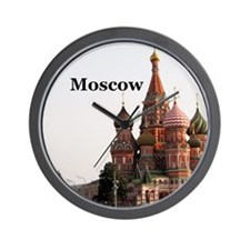 Moscow_6x6_v1_RedSquare Wall Clock