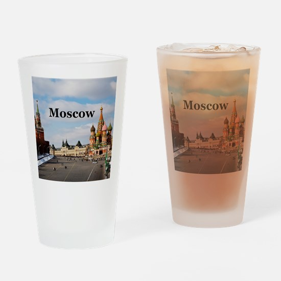 Moscow_6x6_v2_RedSquare Drinking Glass
