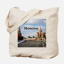 Moscow_6x6_v2_RedSquare Tote Bag