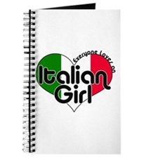 Everyone Loves an Italian Girl Journal
