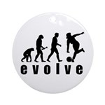 Evolve Bowling Ornament (Round)